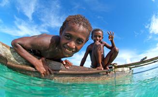 パプアニューギニア自然と少数民族が共生する秘境