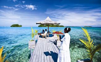ソロモン諸島南太平洋の真珠箱