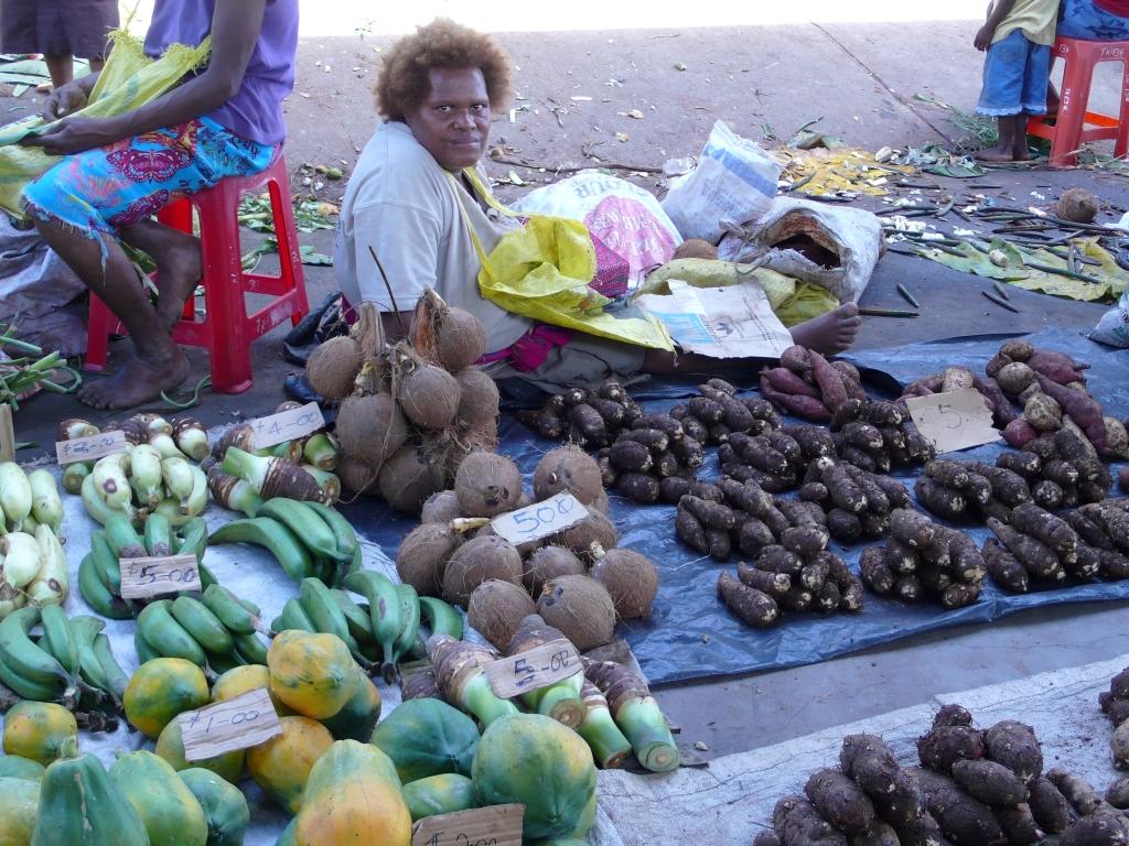 ソロモン諸島の首都ホニアラを効率よく巡ります