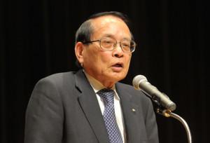 応援弁士平沢勝栄衆議院議員
